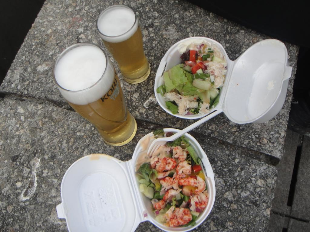 Crab and Crayfish salads