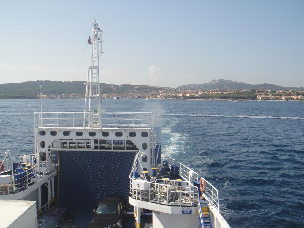 Ferry to La Maddalena from Palau